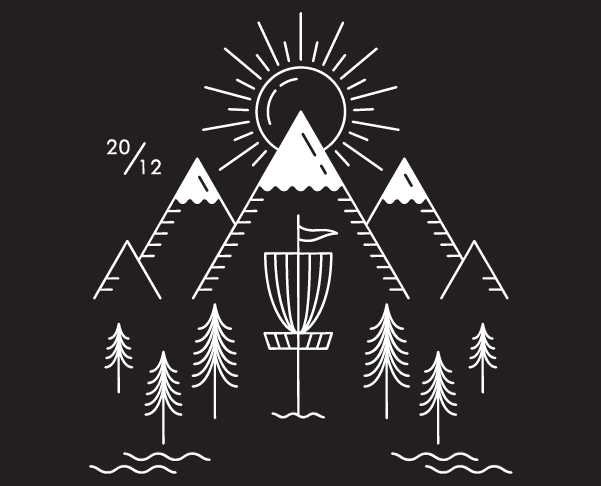 Disc Golf Graphic